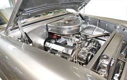 Classic Car Engine Stock Images