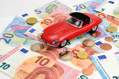 Classic Car Euro Royalty Free Stock Images