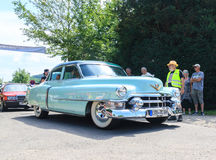 Classic car festival, Bad Koenig, Germany Stock Images
