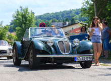 Classic car festival, Bad Koenig, Germany Stock Photography