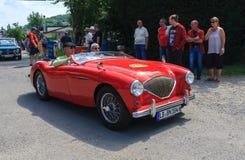 Classic car festival, Bad Koenig, Germany Stock Photos
