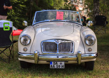 Classic car festival, Bad Koenig, Germany. BAD KOENIG - JULY 09: Classic car festival, Bad Koenig, Germany July 09, 2017 royalty free stock images