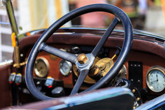 Classic car festival, Bad Koenig, Germany. BAD KOENIG - JULY 09: Classic car festival, Bad Koenig, Germany July 09, 2017 royalty free stock photography