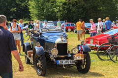 Classic car festival, Bad Koenig, Germany. BAD KOENIG - JULY 09: Classic car festival, Bad Koenig, Germany July 09, 2017 stock image