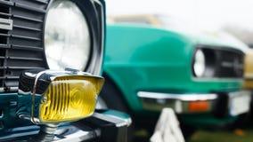 Classic car foglight Stock Images