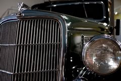 Classic Car Front Royalty Free Stock Images