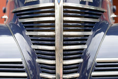 Classic car front grill Royalty Free Stock Photography