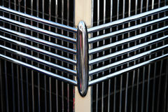 Classic car grill. With beautiful patterns Royalty Free Stock Photos