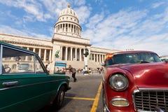 Classic car in Havana Stock Photos