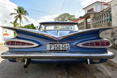 Classic Car - Havana, Cuba Stock Photo