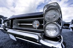 Classic car head lamp Royalty Free Stock Image