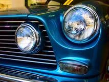 Classic car headlamp horizontal Royalty Free Stock Images