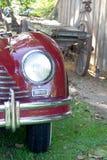 Classic car headlight Royalty Free Stock Photography