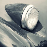 Classic car headlight Royalty Free Stock Image