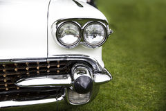 Classic Car headlight Stock Images
