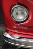 Classic car headlights Stock Image