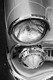 Classic car headlights Royalty Free Stock Images