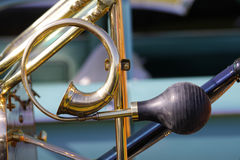 Classic car horn Royalty Free Stock Image