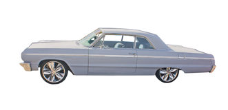 Classic car illustration Royalty Free Stock Image