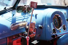 Classic car interior Royalty Free Stock Photography