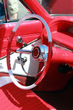 classic car interior Stock Photo