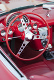 Classic Car Interior Royalty Free Stock Image