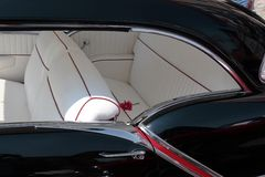 Classic car interior. Interior of classic Oldsmobile Stock Photography