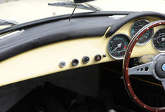 Classic Car Interiors Stock Photo
