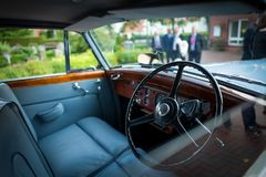 Classic Car. The interor of a classic car Royalty Free Stock Images