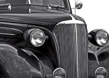 Classic Car Isolation Stock Photography