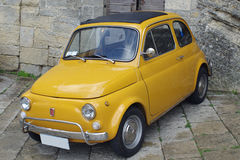 Classic car. Classic italian car - Fiat 500 Royalty Free Stock Images