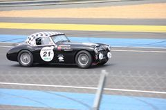 Classic Car Le Mans Circuit Stock Photo