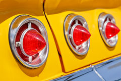 Classic car lights Royalty Free Stock Photos