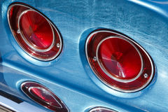 Classic car lights Stock Photography