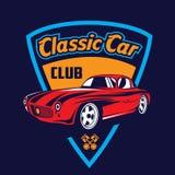Classic car logo Royalty Free Stock Photography