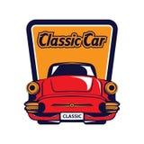 Classic car logo Royalty Free Stock Photo