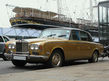 Classic car In London, England Stock Image