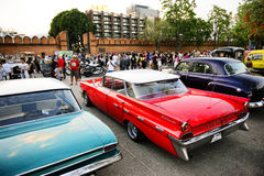 Classic Car Meeting 2017 Royalty Free Stock Photos