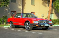 Classic Car: 1984 Mercedes 380 SL Royalty Free Stock Image