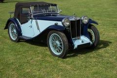 Classic car MG Stock Image