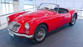 Classic car MGA Stock Image