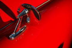 Classic car mirror Royalty Free Stock Image