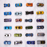 Classic car models Royalty Free Stock Photography