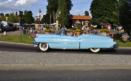 Classic car parade Royalty Free Stock Photo