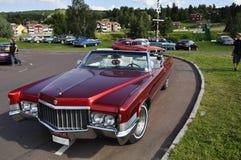 Classic car parade Stock Photo