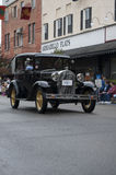 Classic Car on Parade royalty free stock photography