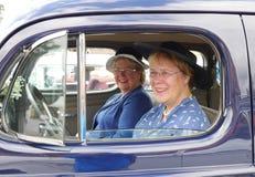 Classic car parade Stock Photography