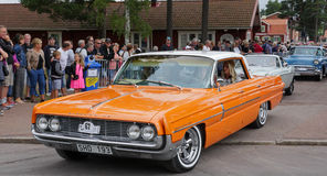Classic car parade Stock Images