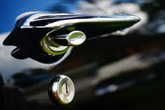 Classic car part inlet details Stock Photos
