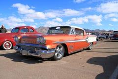 Classic Car: 1958 Pontiac Bonneville Royalty Free Stock Photo